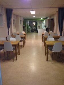 Det stora rummet sett från andra hållet.