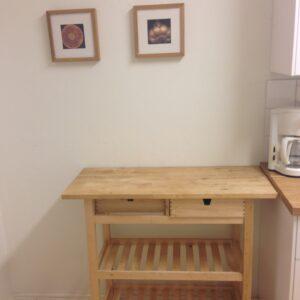 Flyttbart serveringsbord